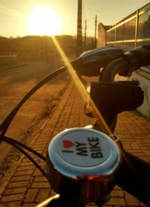 anda de bicicleta i love my bike