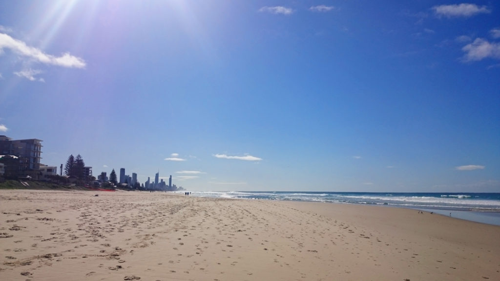 Gold Coast praia